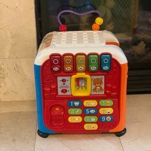 Vetch ultimate alphabet activity cube for babies